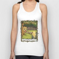 The March Hare and the Hatter Unisex Tank Top