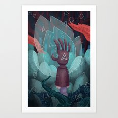 The Reach. Art Print