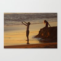 End of a Good Day Canvas Print