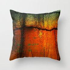 Burnt Caramel Throw Pillow