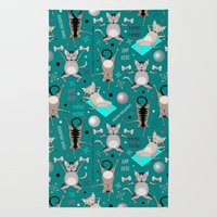 Fitness for cats Rug