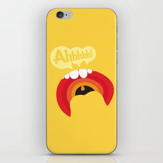 Ahhhhhh! iPhone & iPod Skin
