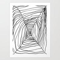 SPIDER WEB BY EDITH BOAM… Art Print