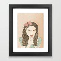 Aida Folch Framed Art Print