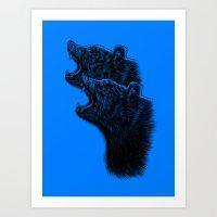 2bear ( Art Prints /T-shirts /V-neck T-shirts /Tank Tops /Hoodies /Onesies /Kids T-Shirts ) Art Print