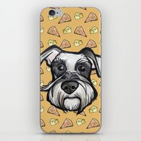 Peter Loves Pizza And Ch… iPhone & iPod Skin