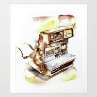 Vintage gadget series: Polaroid Sun 630 Art Print