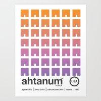 ahtanum single hop Art Print