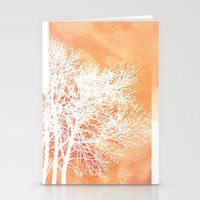Autumn Silence Stationery Cards