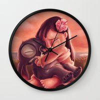 But You Needed Me More Wall Clock