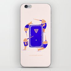 Narwhal Pool Session iPhone & iPod Skin