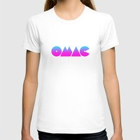 OMAC Womens Fitted Tee White SMALL