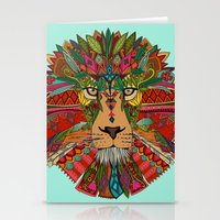 lion mint Stationery Cards