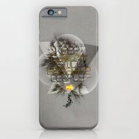 Keep calm and breathe deeply iPhone 6 Slim Case