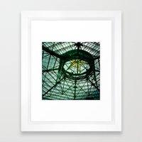 Glass Ship Framed Art Print