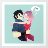 Aren't they lovely. Art Print