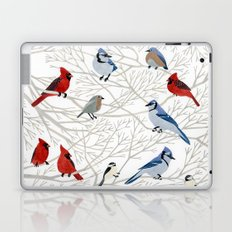 Winter Birds Laptop & iPad Skin