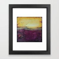 Broken Majesty - Texture… Framed Art Print