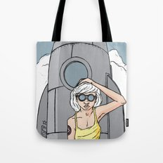 Heading Off Tote Bag