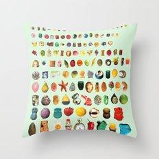 SOUVENIRS Throw Pillow