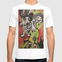 The Joke Isn't Funny Any… Mens Fitted Tee White SMALL