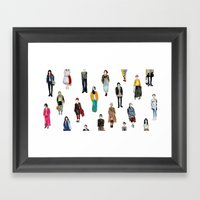 Japanese Street Snap Framed Art Print