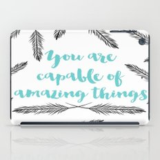 Positive Vibes iPad Case