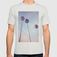 Sunshine & Warmth Mens Fitted Tee Silver SMALL
