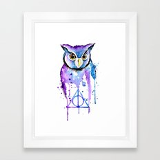 Hedwig Framed Art Print