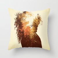 Polish Girl Throw Pillow
