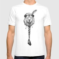 Lionelle 2 Mens Fitted Tee White SMALL