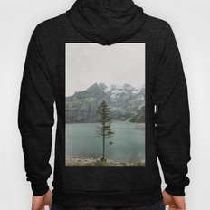 Lone Switzerland Tree - Landscape Photography Hoody