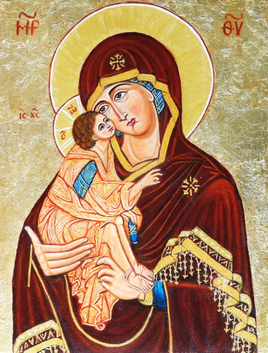 Mary, Mother of God Art Print