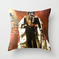 King Vader Throw Pillow