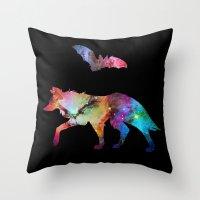 Animal Connection Throw Pillow