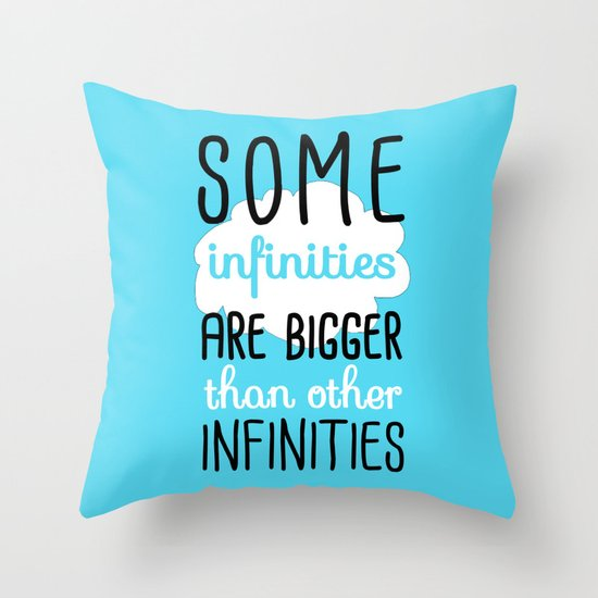 Some Infinities - The Fault In Our Stars Throw Pillow