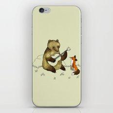 Bear & Fox iPhone & iPod Skin