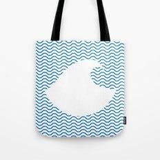 Wavy Wave Tote Bag
