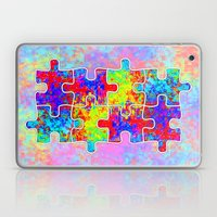 Autism Colorful Puzzle P… Laptop & iPad Skin