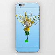 INTERCONTINENTAL BALLISTIC THISTLE iPhone & iPod Skin