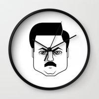Ron Swanson Wall Clock