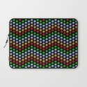 Beaded Chevrons Laptop Sleeve