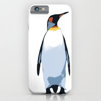 penguin iPhone & iPod Cases featuring PENGUIN by eARTh