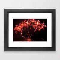 Fireworks - Philippines 3 Framed Art Print