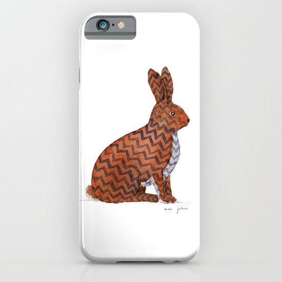 zig zag rabbit iPhone & iPod Case