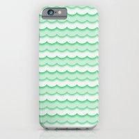 Green Waves iPhone 6 Slim Case