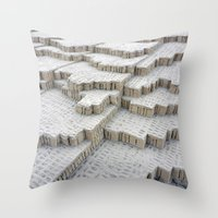 Pyramid In Lima Throw Pillow