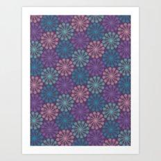 PAISLEYSCOPE peacock Art Print
