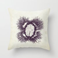 Chestnutbrain Throw Pillow