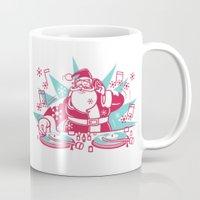 Funky Santa Mug